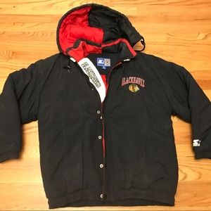 Vintage Chicago Blackhawks starter jacket
